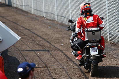 "Ferrari says Mexico disaster ""a good lesson"""