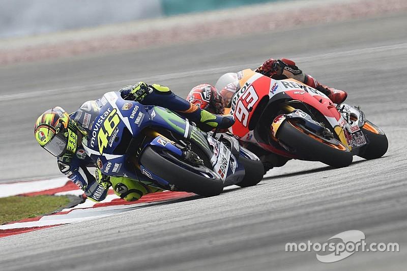 Yamaha verwerpt claims Honda: 'Rossi heeft niet geschopt'
