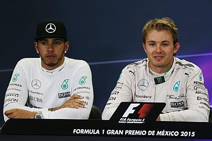 "Hamilton alfineta Rosberg e ironiza ""rajada de vento"""