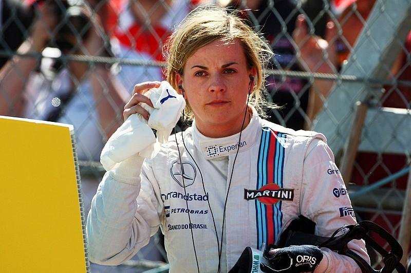 Susie Wolff ha annunciato il suo ritiro dalle corse