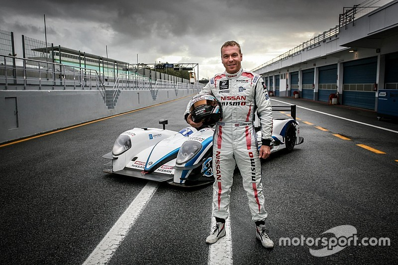 LMP2 - Premier test pour le Champion Olympique Chris Hoy