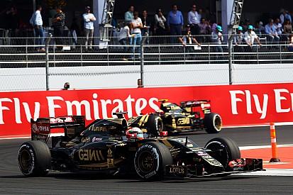 """Grosjean - """"C'est assez fou"""" ce qu'on a fait avec Lotus"""