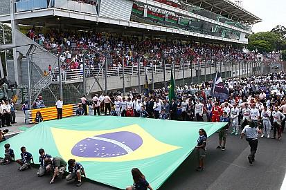 Ecclestone - La rénovation d'Interlagos va impressionner les équipes