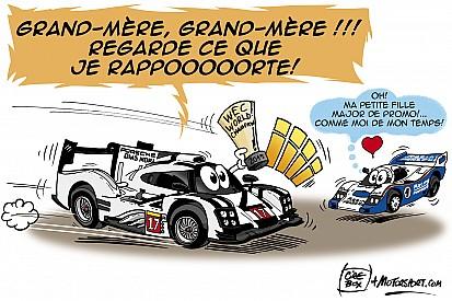 L'humeur de Cirebox - Porsche de retour au sommet!