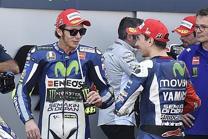 Lorenzo no ve un problema en trabajar con Rossi
