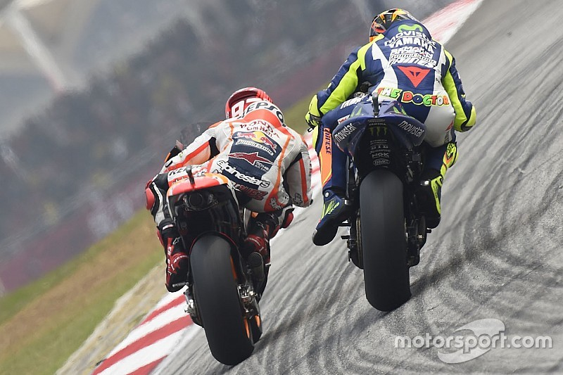 Rossi dice que se arrepiente del incidente con Márquez