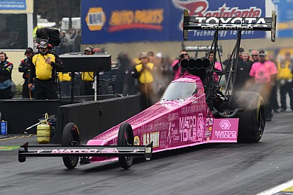 Antron Brown talks about his second Top Fuel world second championship
