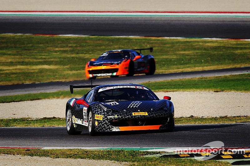 Romanelli takes pole for opening Ferrari encounter