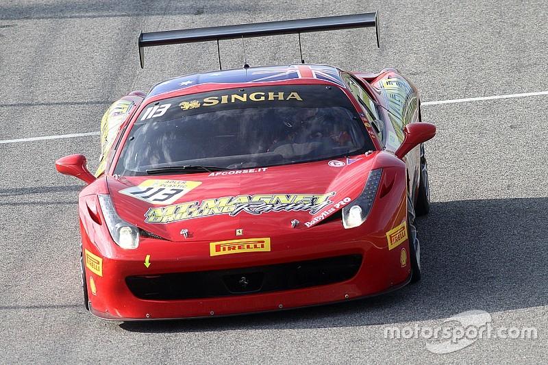 Vivo: Ferrari Challege Trofeo Pirelli/Asia-Pacific, Carrera 1