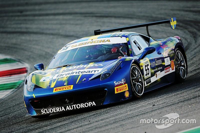 Ferrari Challenge - Santoponte s'impose dans le Trofeo Pirelli