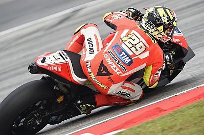 Andrea Iannone juge son rythme insuffisant pour le podium