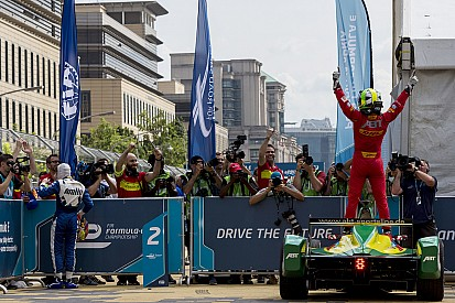 """Di Grassi: """"Fue la carrera más dura de la Fórmula E"""""""