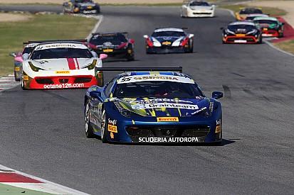 Ferrari Challenge - Santoponte fait coup double à l'issue d'une course écourtée