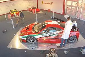 Ferrari Contenu spécial Vidéo - La Ferrari 488 GTE arbore sa livrée de course