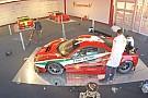 Vidéo - La Ferrari 488 GTE arbore sa livrée de course