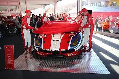 Ecco il vernissage Ferrari 488 GTE e GT3