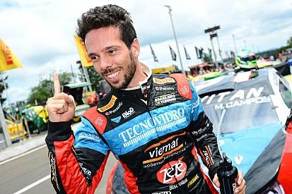 Campos faz pole em Tarumã e ganha credencial para GP do Brasil
