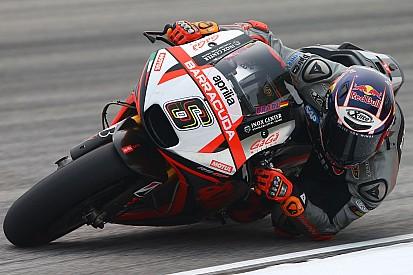 Quinta e sesta fila per le Aprilia RS-GP a Valencia