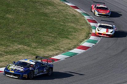 Сантопонте выиграл вновь, гонка остановлена красными флагами