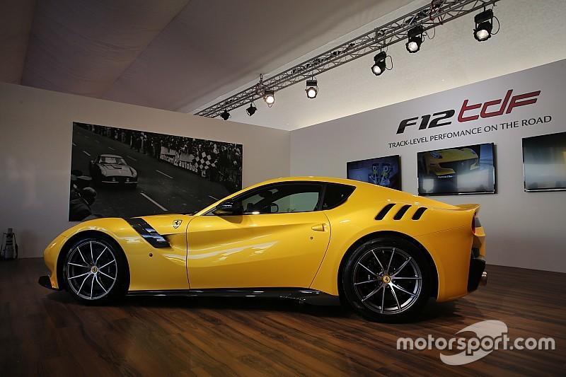 Ferrari launches the F12tdf supercar at Mugello