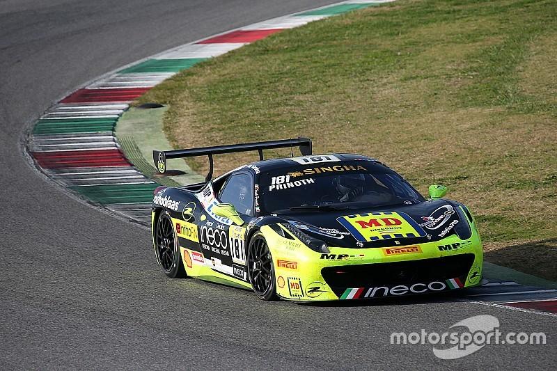 Принот победил в последней гонке Кубка Shell