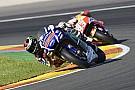 Course - Lorenzo et Rossi font le show pour la finale!