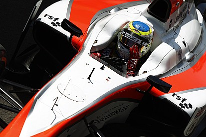 Rowland to see out GP2 season with Status