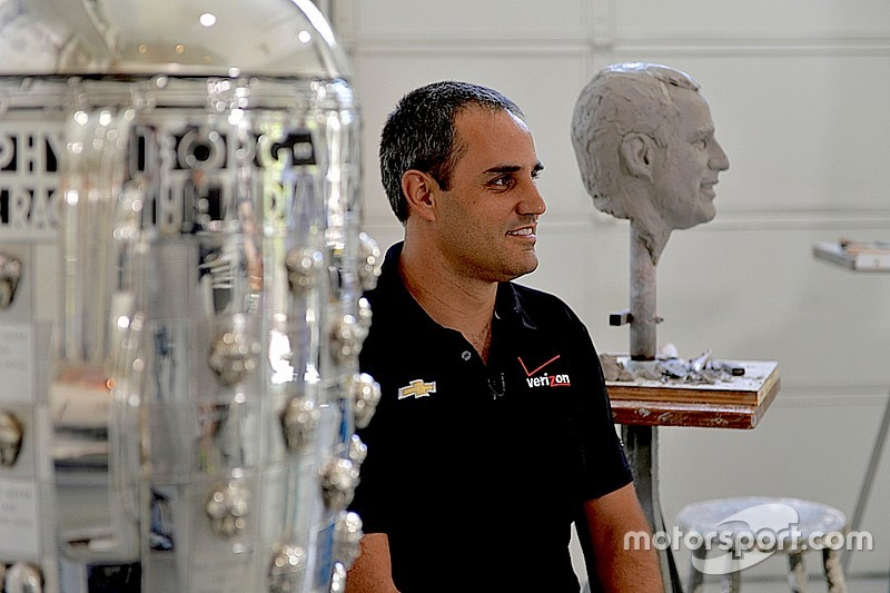 Montoya to unveil likeness on Borg-Warner Trophy in December