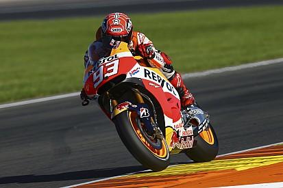 Márquez con el mejor tiempo en las pruebas de Valencia