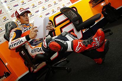 Essais Valence - Michelin de retour, Márquez leader de la 1ère journée