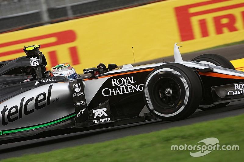 Force India - Le Grand Prix du Mexique a plu à nos sponsors