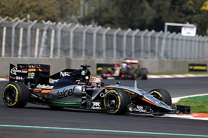 Force India s'unira à Aston Martin uniquement sur le long terme