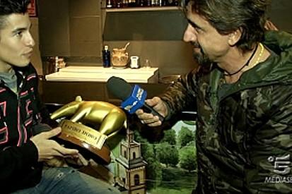 Consegnato il Tapiro d'oro a Marc Marquez