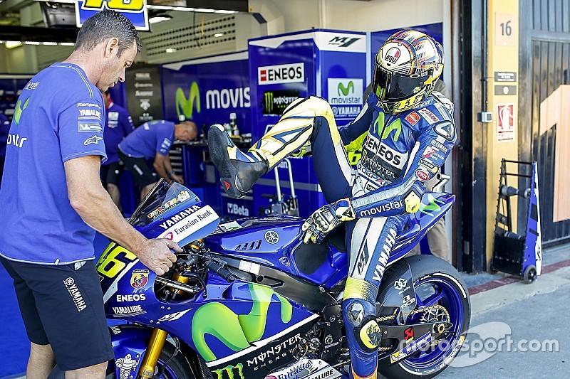 Росси: У Yamaha есть кое-какие проблемы с Michelin