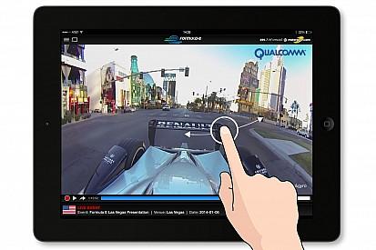 Dank neuer App und Partnerschaft mit 360° Video Technology: Formel-E-Rennen im Rundum-Modus