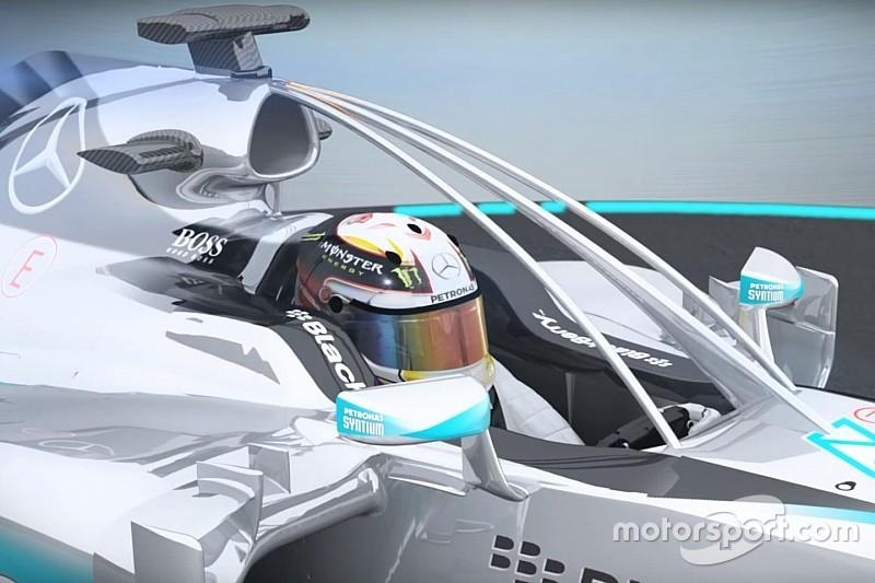 Video: Neue Ansätze für geschlossene Cockpits in der Formel 1