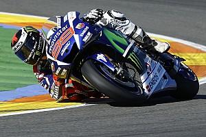MotoGP 突发新闻 洛伦佐无惧对手的测试速度