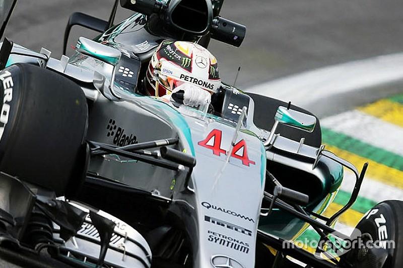 """Hamilton: """"não sabia que tínhamos um novo bico para o Brasil"""""""