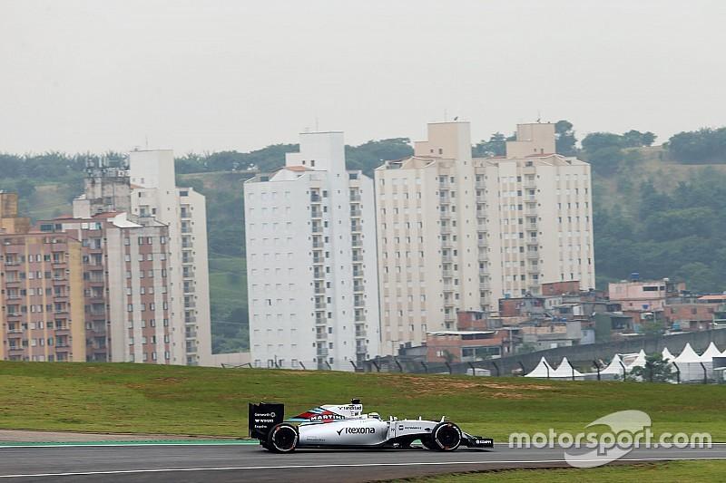 Para Massa, fue un día complicado por la adherencia