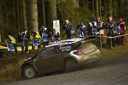WRC英国站首日:奥吉尔领跑米克 拉特瓦拉退赛