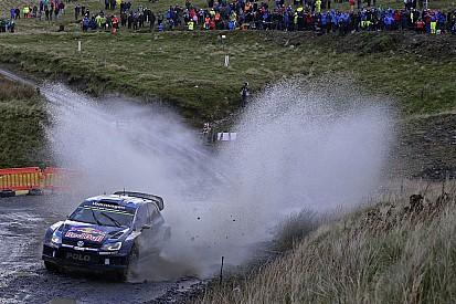 WRC Wales, dag 1: Ogier leidt, Latvala crasht