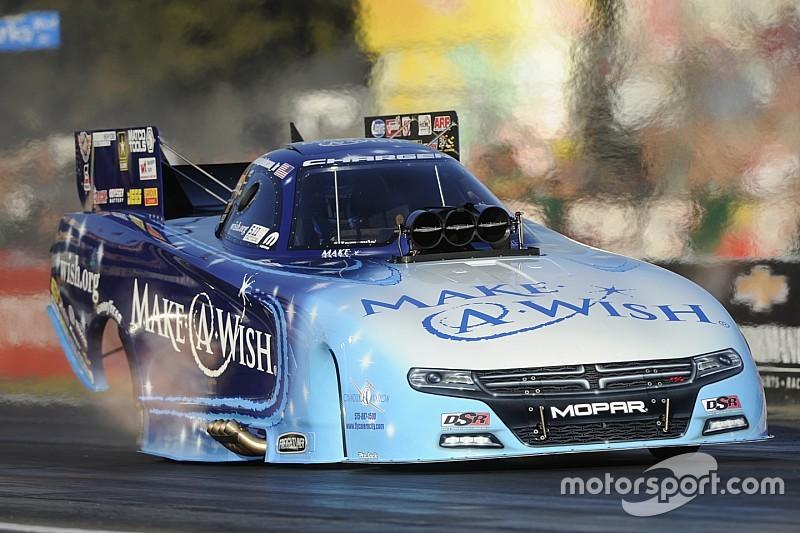 Johnson Jr. lead Funny Car qualifying at Pomona