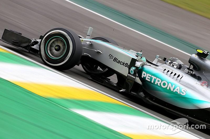 Rosberg avec sérieux; Les pilotes McLaren font les clowns