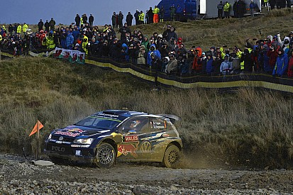 Wales WRC: Ogier reinstated as leader, Paddon and Prokop collide