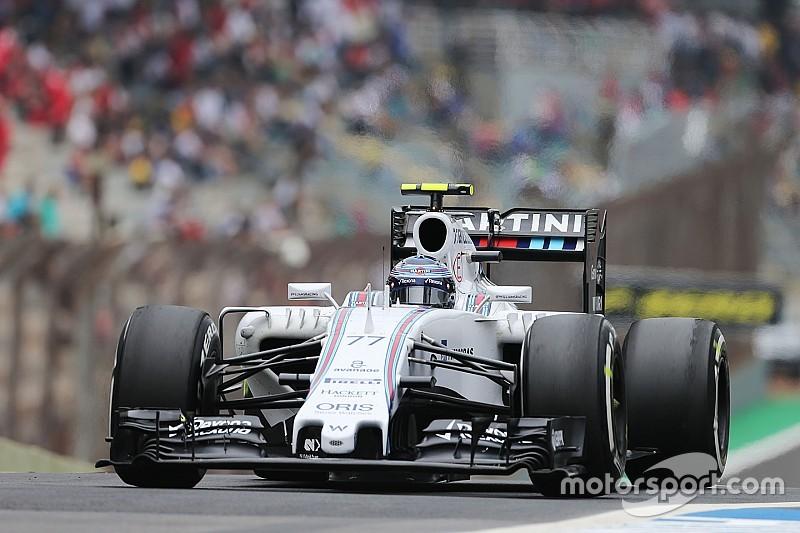 Bottas qualified fourth and Massa eighth for tomorrow's Brazilian GP