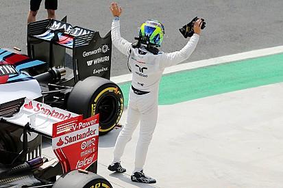 """""""Tentei aliviar o lado dele"""", diz Massa sobre punição a Nasr"""
