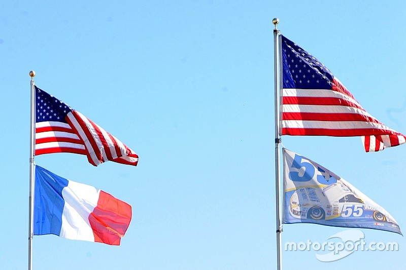 NASCAR community turns their thoughts to Paris