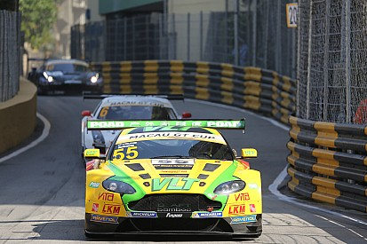 GT Asia Series regulars dominate Macau GT entry