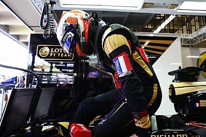 """Grosjean - """"Une course assez folle"""""""
