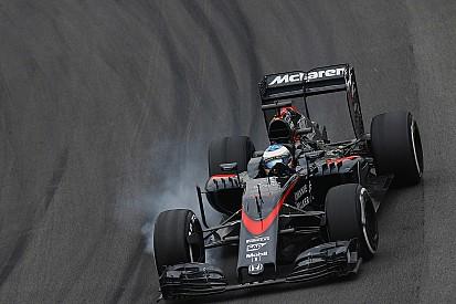 Seulement la satisfaction d'avoir vu l'arrivée pour Alonso